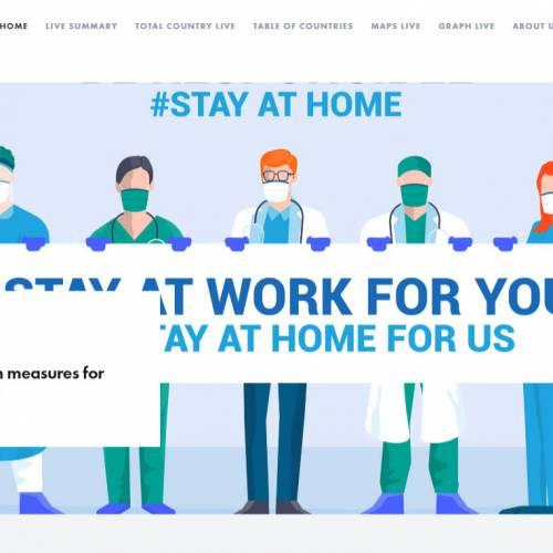 CMS Website Design & Development Portfolio For Covid19